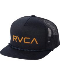 0 Boys RVCA FOAMY TRUCKER BOYS Blue BAHW2RFT RVCA