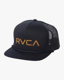 0 RVCA FOAMY TRUCKER BOYS Blue BAHW2RFT RVCA