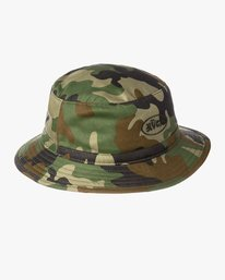 0 BOYS RUM BUCKET HAT Brown BAHW2RRB RVCA