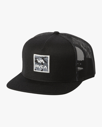 0 VA ATW PRINT TRUCKER B Black BAHW2RVP RVCA