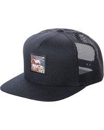 0 Boy's VA ATW Trucker Hat White BAHW2RVP RVCA