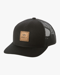 0 BOYS VA ATW CURVED HAT Black BAHW3RVA RVCA