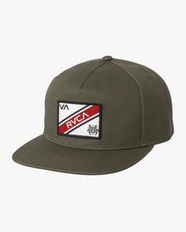 0 Boy's Places Snapback Hat Green BAHWSRNP RVCA