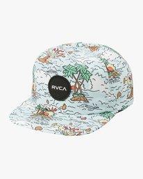 0 Boy's Print Cap Hat Multicolor BAHWTRPC RVCA
