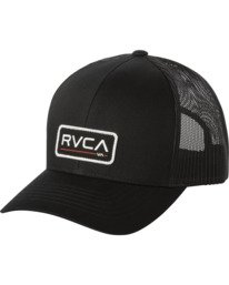 0 BOYS TICKET III TRUCKER HAT Grey BAHWWRTT RVCA