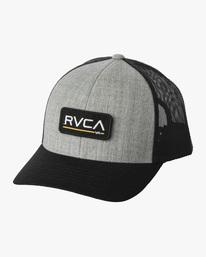 0 Boy's Ticket III Trucker Hat Yellow BAHWWRTT RVCA