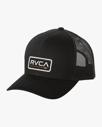 0 Boys TICKET TRUCKER III HAT Grey BAHWWRTT RVCA