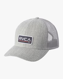 0 BOY'S TICKET TRUCKER III HAT Grey BAHWWRTT RVCA