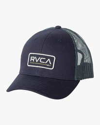 0 BOY'S TICKET TRUCKER III HAT Blue BAHWWRTT RVCA