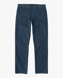 0 Boys WEEKDAY STRETCH straight fit PANT Blue BC301WDS RVCA