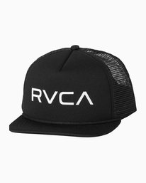 0 Boy's Foamy Trucker Hat Black BJAHWRFT RVCA