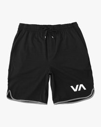 0 Boy's VA Sport Short II Black BL201SPO RVCA