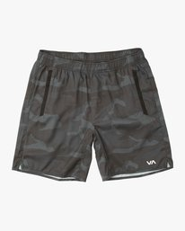 "0 Boy's Yogger 3 15"" Short Brown BL204YGR RVCA"