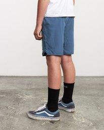 """4 Boys Yogger 3 15"""" Short Blue BL204YGR RVCA"""
