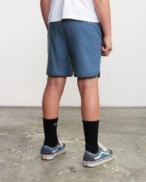 """5 Boys Yogger 3 15"""" Short Blue BL204YGR RVCA"""