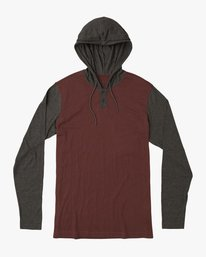 0 Boy's Pick Up Knit Hoodie Red BL904PUH RVCA