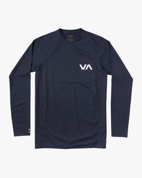 0 Boy's Long Sleeve Rashguard  BR51NRLS RVCA