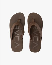 0 FEDERAL SANDAL Brown C5FFRBRVP7 RVCA