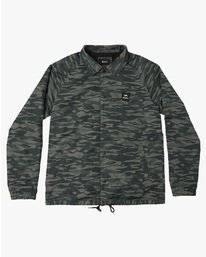 0 VA ALL THE WAY COACH JACKET Camo F1JKGBRVF7 RVCA
