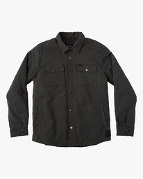 0 OFFICERS SHIRT JACKET  F1JKRCRVF7 RVCA