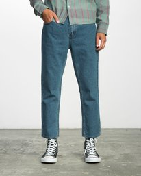 0 FLOOD DENIM NO WAVE  F1PNRERVF7 RVCA
