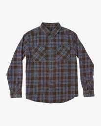 0 THAT'LL WORK FLANNEL  F1SHRIRVF7 RVCA