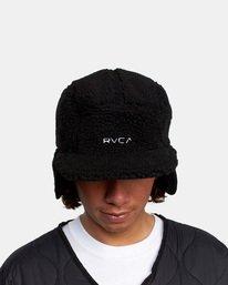 4 Boa Fleece Hoth Hat Black GVYHA00100 RVCA