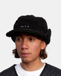 5 Boa Fleece Hoth Hat Black GVYHA00100 RVCA