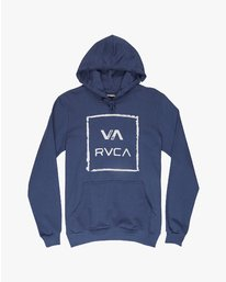 0 VA ALL THE WAY HOODY  H1HORDRVP8 RVCA