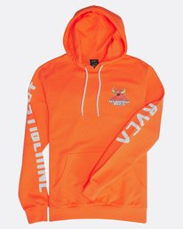1 SMALL TOY MACHINE HOODIE  H1HOTBRVP8 RVCA