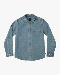 0 HEX DENIM LS  H1SHRVRVP8 RVCA