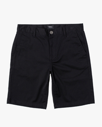 0 Weekend Stretch Short Black H1WKRZRVP8 RVCA