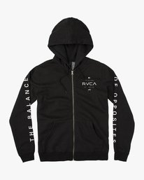 0 LOCK IN ZIP  H1ZHRDRVP8 RVCA