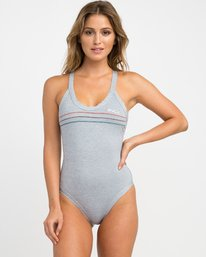 0 PIPELINE ONE PIECE Grey H3SWRFRVP8 RVCA