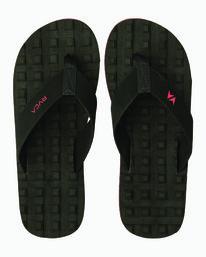 0 Wave Warrior Astrodeck - Sandal for Men Negro H5FFRARVP8 RVCA
