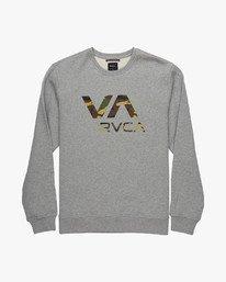 0 VA RVCA CREW  L1CRRCRVF8 RVCA