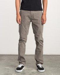0 Campbell Bros Daggers - Pantalon en velours côtelé pour Homme  L1PNRDRVF8 RVCA