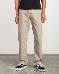 0 AR CANVAS PANT Green L1PTRERVF8 RVCA