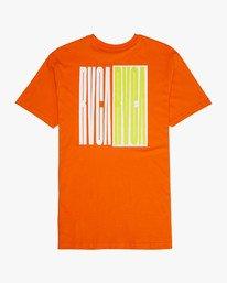 0 BLOCK PARTY Orange L1SSDDRVF8 RVCA