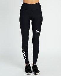 1 VA Sport Performance - Legging d'entrainement pour Femme Noir L4PTWARVF8 RVCA