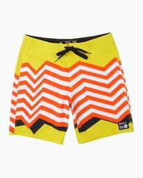 "0 Luke P VA 19"" Boardshort Multicolor M101PRLP RVCA"