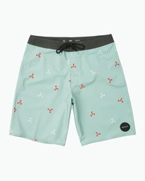 "0 Middle 20"" Boardshort Grey M101PRMI RVCA"