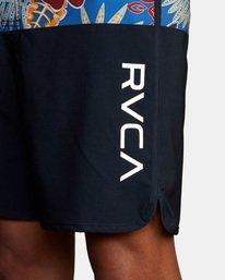 "6 Eastern Boardshorts 18"" Black M101TREA RVCA"