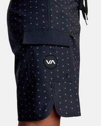 "7 Eastern Boardshorts 18"" Black M101TREA RVCA"