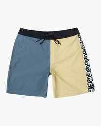 "0 Nash 18"" Boardshort Yellow M101VRNT RVCA"