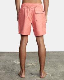 "1 Opposites Elastic Boardshorts 17"" Pink M1051ROE RVCA"