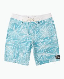 "0 Blade Printed 20"" Boardshort  M105QRBL RVCA"