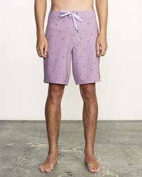 "0 VA PRINT 19"" TRUNK Purple M112VRVA RVCA"