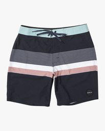"0 RODGER BOARDSHORT 18"" Black M1132RRT RVCA"