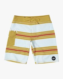 "0 UNCIVIL STRIPED 20"" TRUNK Yellow M1161RUS RVCA"